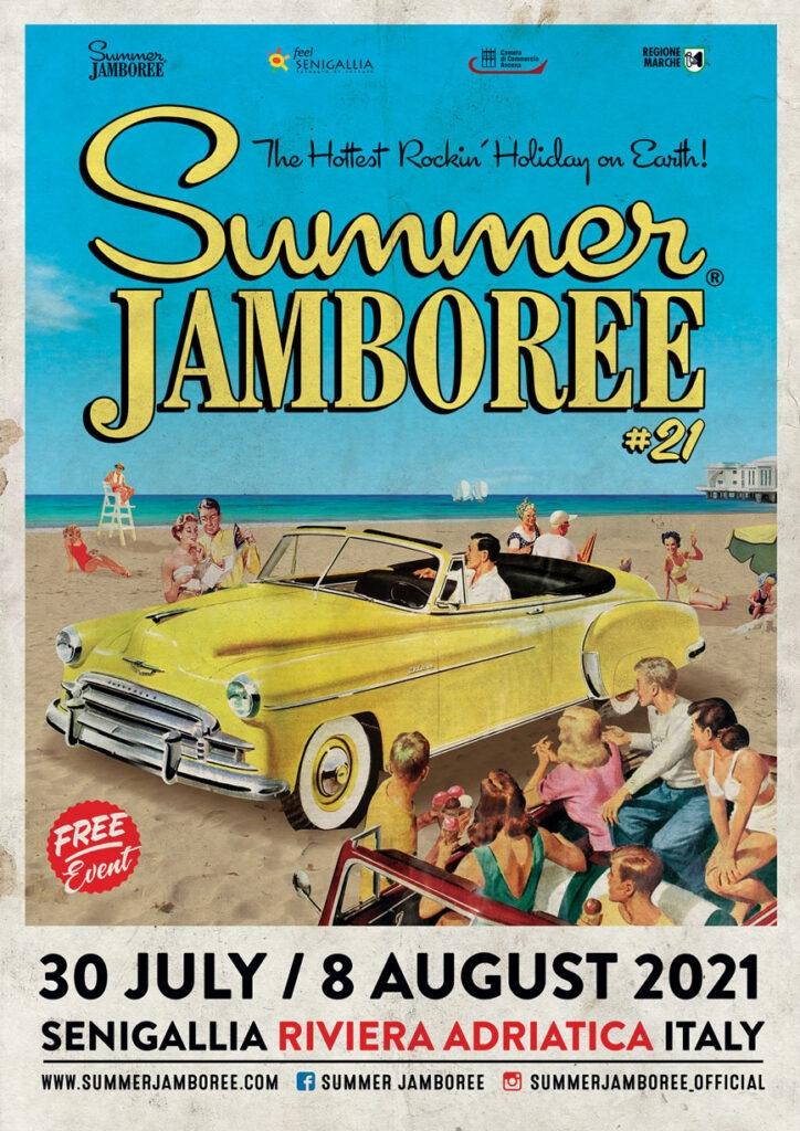 locandina ufficiale summer jamboree 2021 senigallia